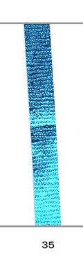 Cinta regalo 10 mm galaxy metalizada azul