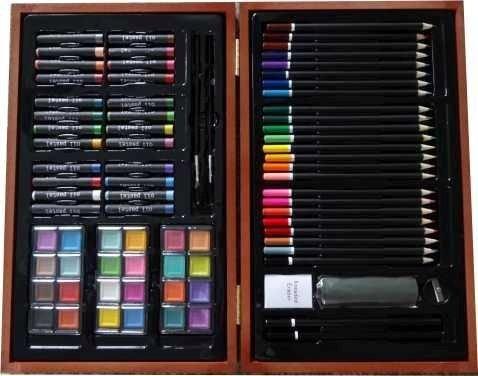 Set artistico caja madera junior studio 84pzas surtido
