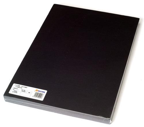 Carton pluma a4 5mm negro 5 unidades
