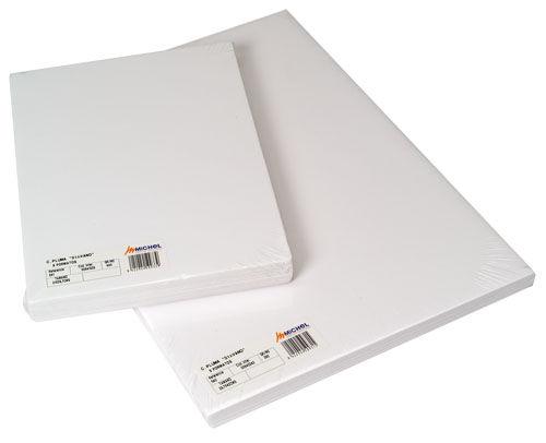 Carton pluma 50x70cm 3mm blanco
