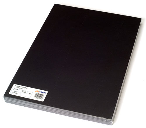 Carton pluma 50x70 5mm negro