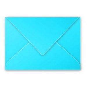 Sobre 125x180 80gr azul turquesa