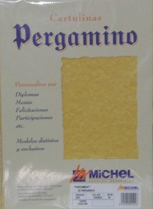 Pergamino a4 troquelado 2604 parchment topacio