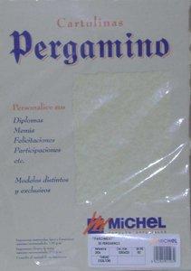 Pergamino a4 troquelado 2605 parchment ocre