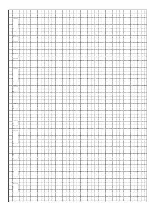 Recambio multifin 3002 4º cuadricula