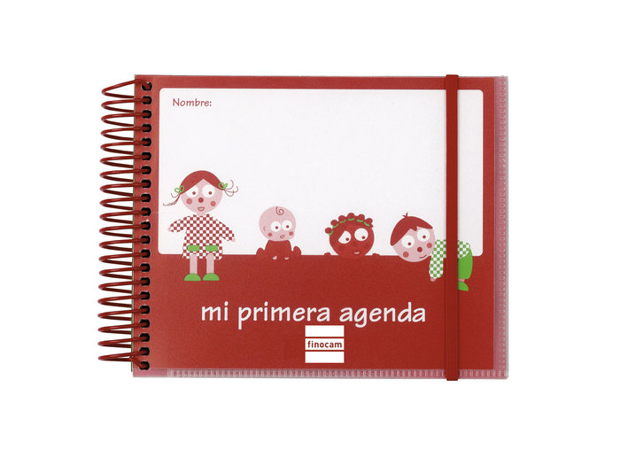 Agenda escolar 2021-2022 finocam infantil 160x130 dia pagina