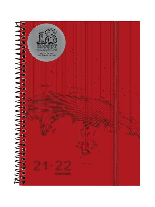 Agenda anual 18 meses 2021-2022 finocam travel e10 semana