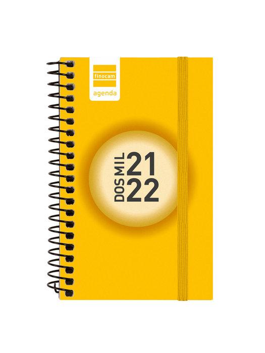 Agenda escolar 2021-2022 finocam espir color e3semana vista