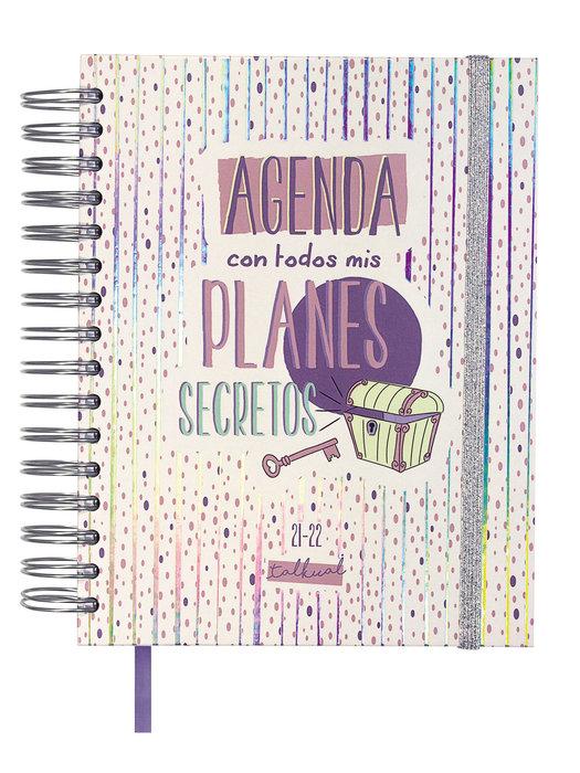 Agenda escolar 2021-2022 talkual finocam 4º dia pagina  plan