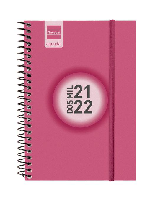 Agenda escolar 2021-2022 finocam espir color e8 semana vista