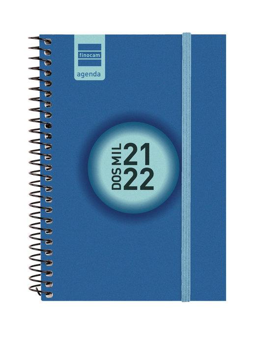 Agenda escolar 2021-2022 finocam espir label e8semana vista