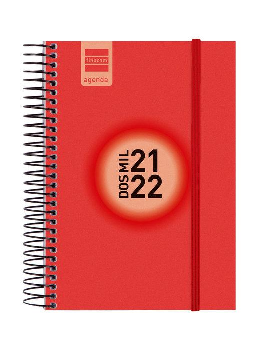 Agenda escolar 2021-2022 finocam espir label e8 dia pagina r