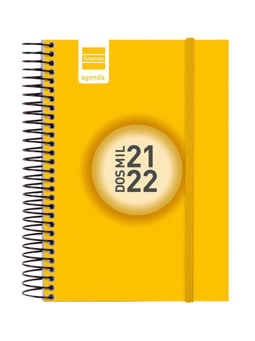 Agenda escolar 2021-2022 finocam espir color e8 dia pagina a