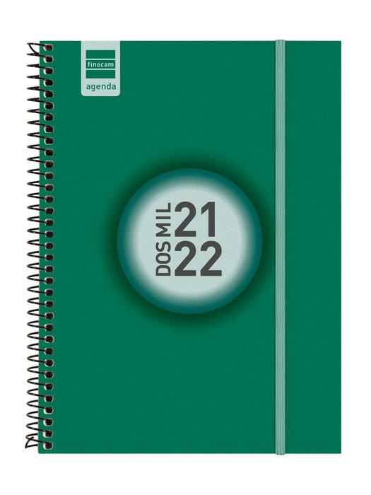 Agenda escolar 2021-2022 finocam espir color e10 semana vist