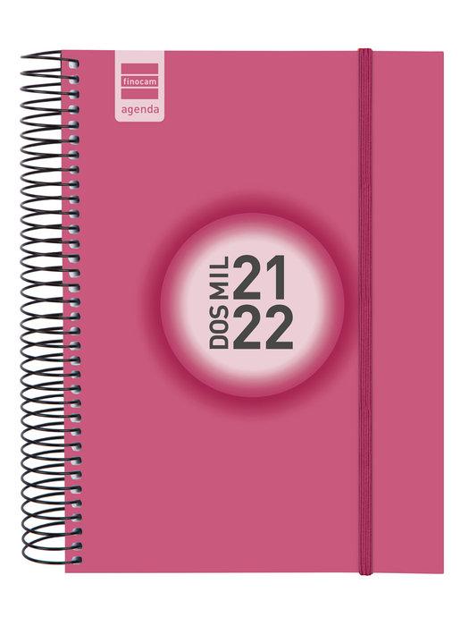Agenda escolar 2021-2022 finocam espir color e10 dia pagina