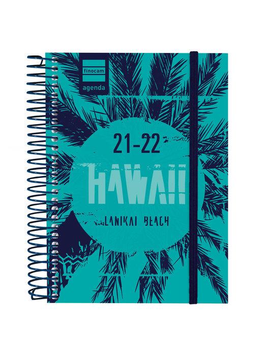 Agenda escolar 2021-2022 finocam secundaria hawai 8º dia pag