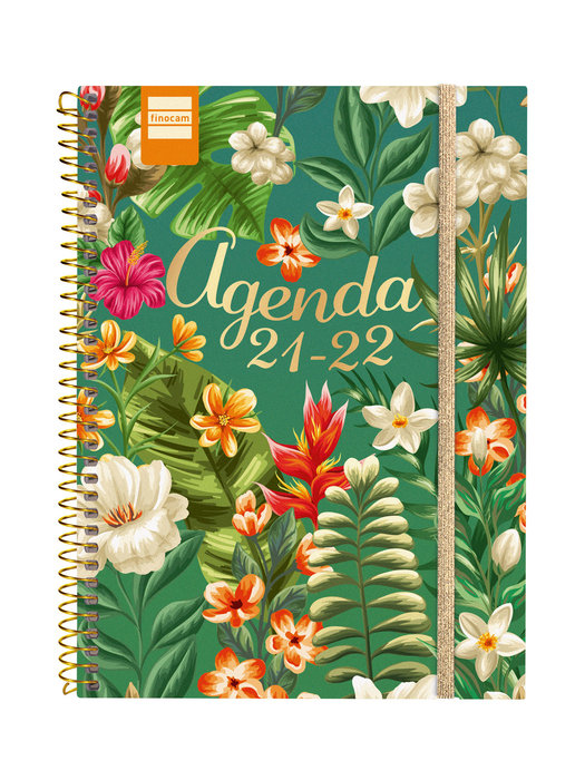 Agenda escolar 2021-2022 finocam secundaria tropical 4º sema