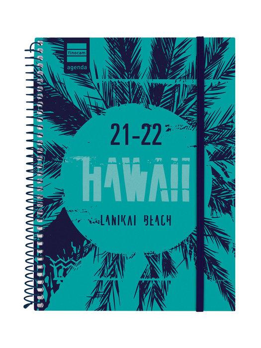 Agenda escolar 2021-2022 finocam secundaria hawai 4º semana
