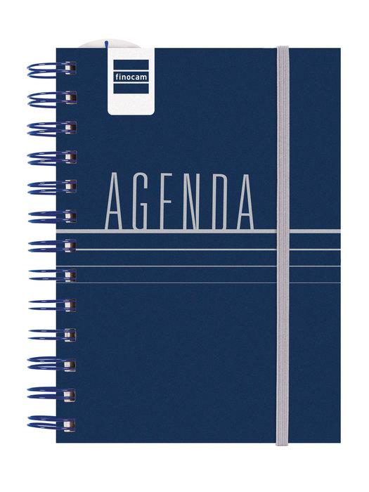 Agenda escolar 2021-2022 finocam mini-i lisa azul 8º dia pag