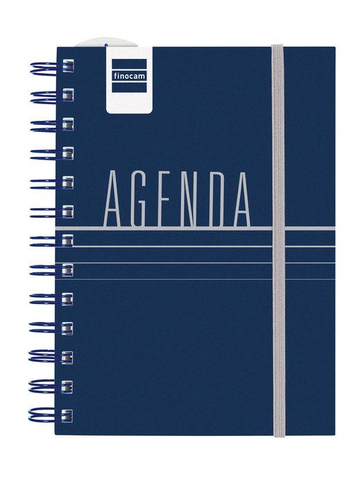 Agenda escolar 2021-2022 finocam mini-i. lisa azul 8º 2 dias