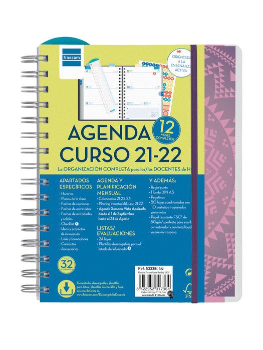 Agenda escolar 2021-2022 finocam magistral 4º sv personaliz