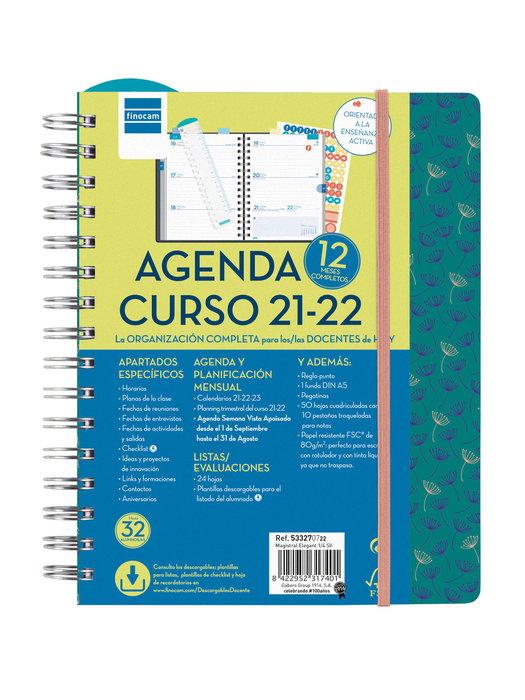 Agenda escolar 2021-2022 finocam magistral 4º semana vista e