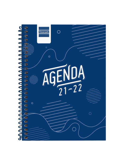 Agenda escolar 2021-2022 finocam cool azul 8º sv catalan