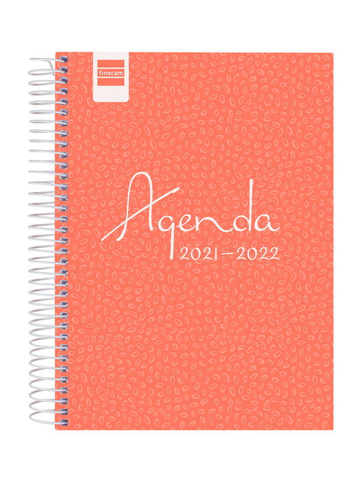 Agenda escolar 2021-2022 finocam cool rosa 4º dia pagina