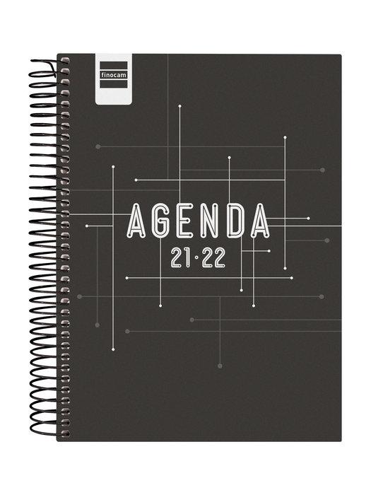 Agenda escolar 2021-2022 finocam cool negro 4º dia pagina