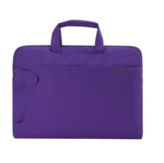Bolsa multimedia para portatil urban morado