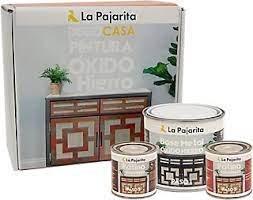 Kit 3 pintura pajarita 750 ml efecto oxido hierro