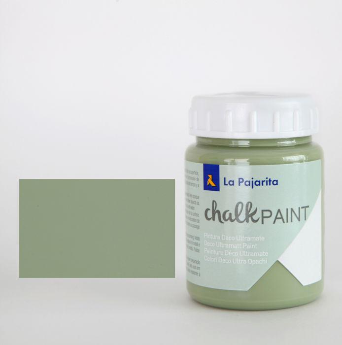 Pintura pajarita 75ml chalk paint cp-19 verde bambu