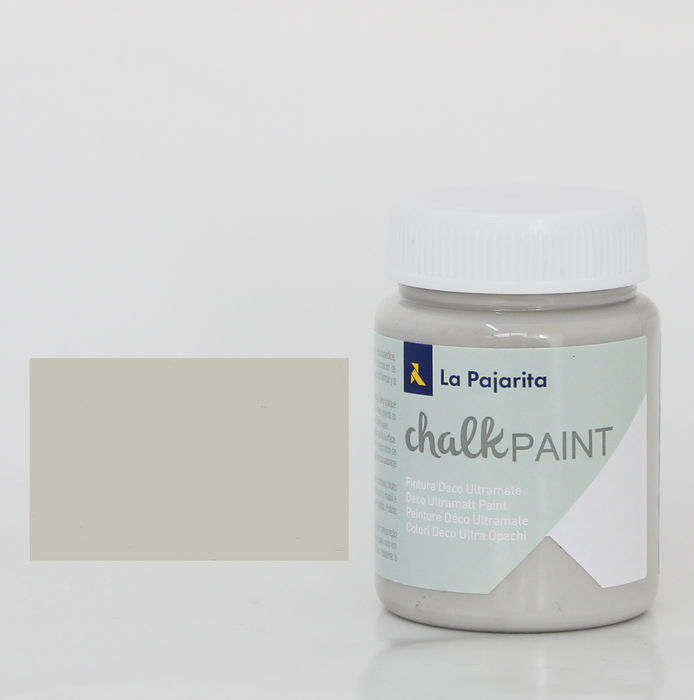 Pintura pajarita 75ml chalk paint cp-30 london grey