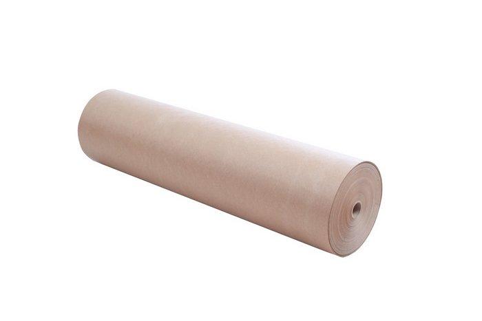 Papel kraft mostrador bobina 62m 11kg marron