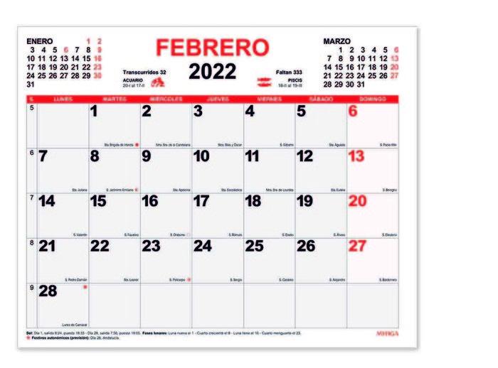 Planning mensual 2022 myrga