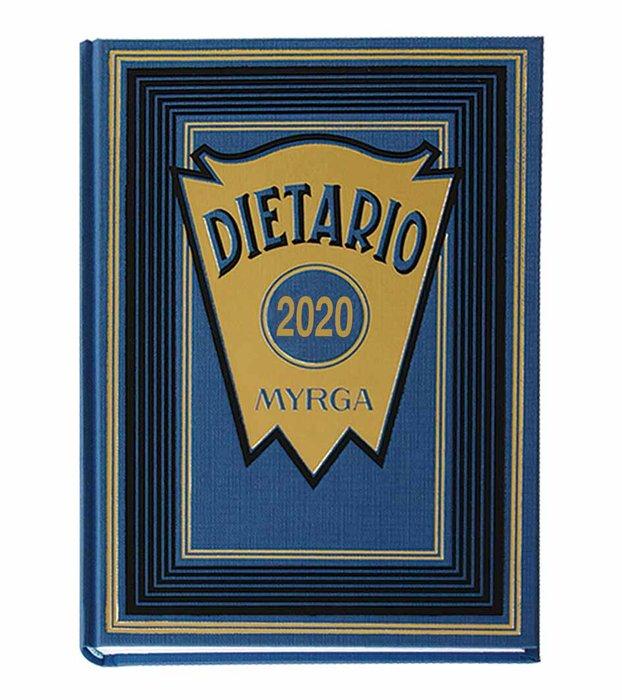 Dietario myrga 2022 cuarto dia pagina azul