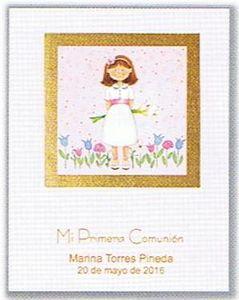 Libro elegance comunion niÑa 21516