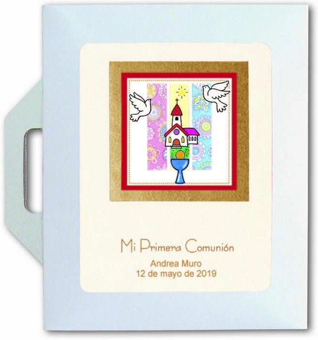 Conjunto carpeta y libro comunion iglesia 27511
