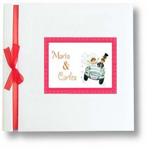 Libro firmas boda coche 29050