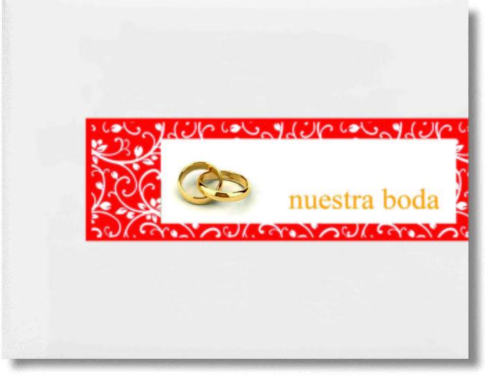 Libro firmas boda anillos 29060