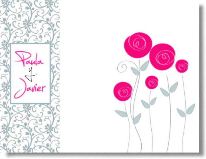 Libro firmas boda flores 29061