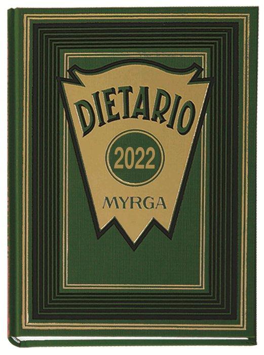 Dietario myrga 2022 cuarto dia pagina verde