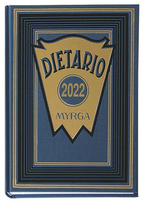 Dietario myrga 2022 octavo dia pagina azul
