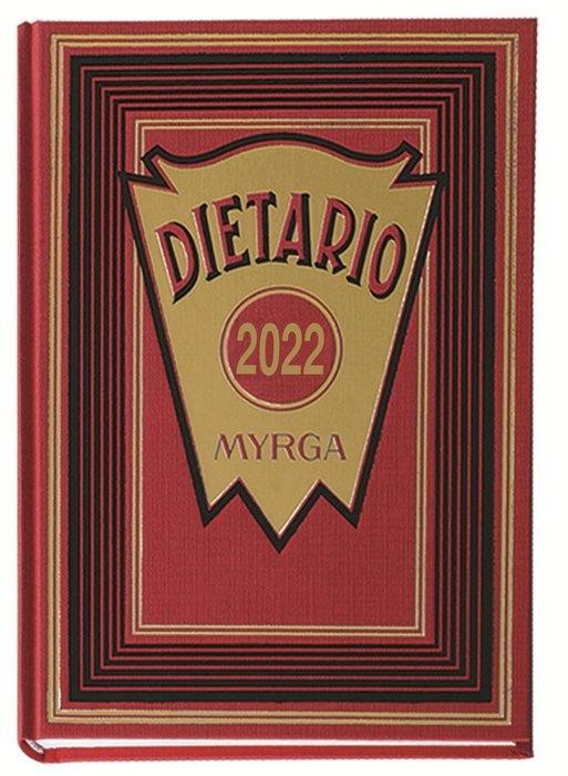 Dietario myrga 2022 octavo dia pagina rojo