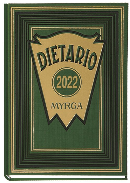 Dietario myrga 2022 octavo dia pagina verde