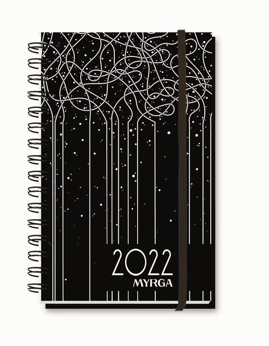 Agenda anual 2022 liebana colors semana vista lineal myrga
