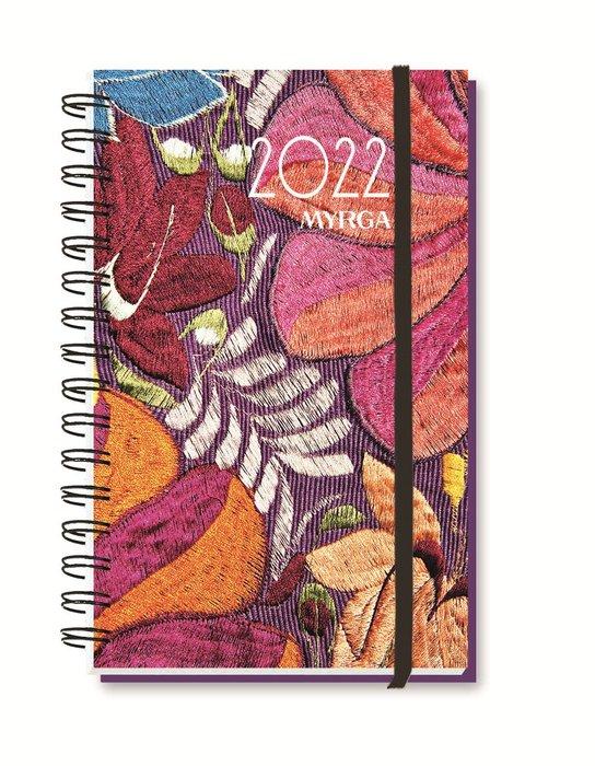 Agenda anual 2022 liebana colors semana vista textil myrga
