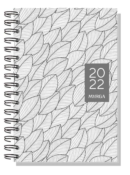 Agenda anual 2022 dueÑas colors semana vista blanco myrga