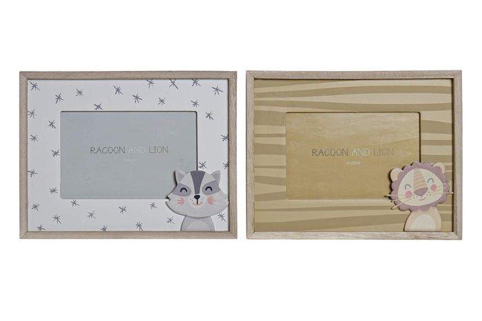 Marco foto decoracion madera 22,5x1,5x17,5 surtido