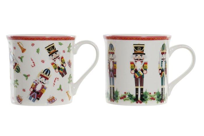 Taza cascanueces porcelana surtida 8,2x9,3x9 300 ml